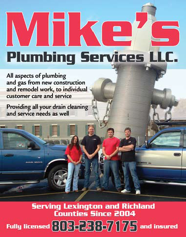 Mikes Plumbing Services Advertisement